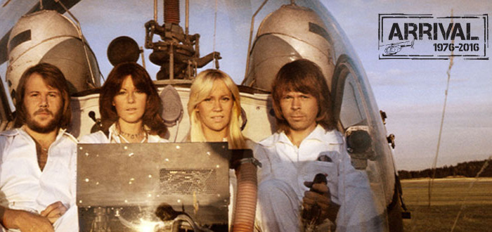 ABBA 'Arrival' 40th anniversary